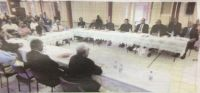 Church Leaders Meeting With Prime Minister 'Akilisi Pohiva 27 May, 2015 at Dr. Moulton Hall