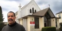 Tonga Havea is one of three lay preachers at the Oamaru Tongan Methodist Parish Photo: ODT