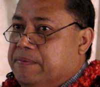 Director of Health Dr. Siale 'Akau'ola
