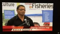 Edgar Cocker. Photo: TV Tonga