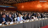 Delegates attend opening ceremony of Belt and Road forum