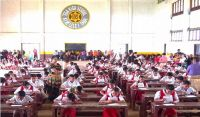 Over 200 student competed in the Soroban Competition for Primary School in 'Eua.