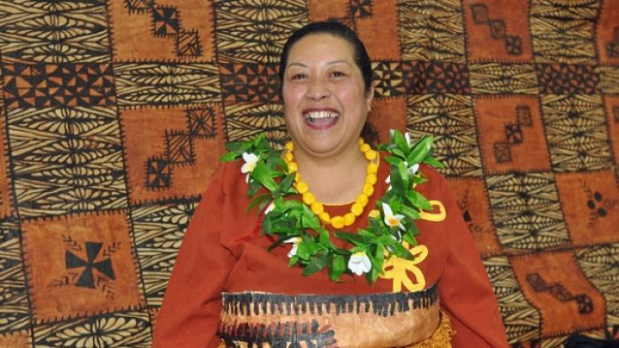 Kaufo'ou Taulata is immensely proud of her Tongan heritage. On Saturday she joined 16 other Lower Hutt women to learn how to make tapa cloth.