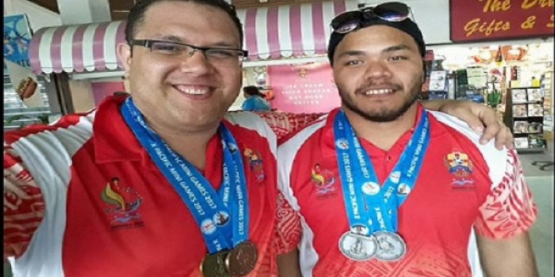 Team Tonga won 1 Gold, 2 Silver and 1 Bronze in...